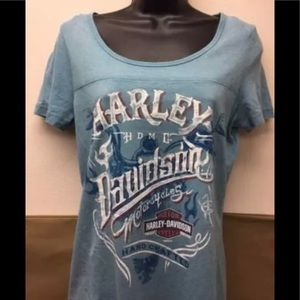 92ff618a1c5 NWT Harley Davidson women s top 2X long in back! NEW Harley Davidson  women s Moisture Wicking 2XL ...